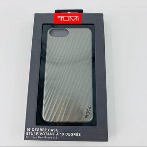 """Tumi Gray IPhone 7/8 Plus 5.5"""" Case"""